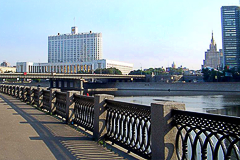 Fencing for the Astakhovsky bridge (the Yauza river, Moscow)